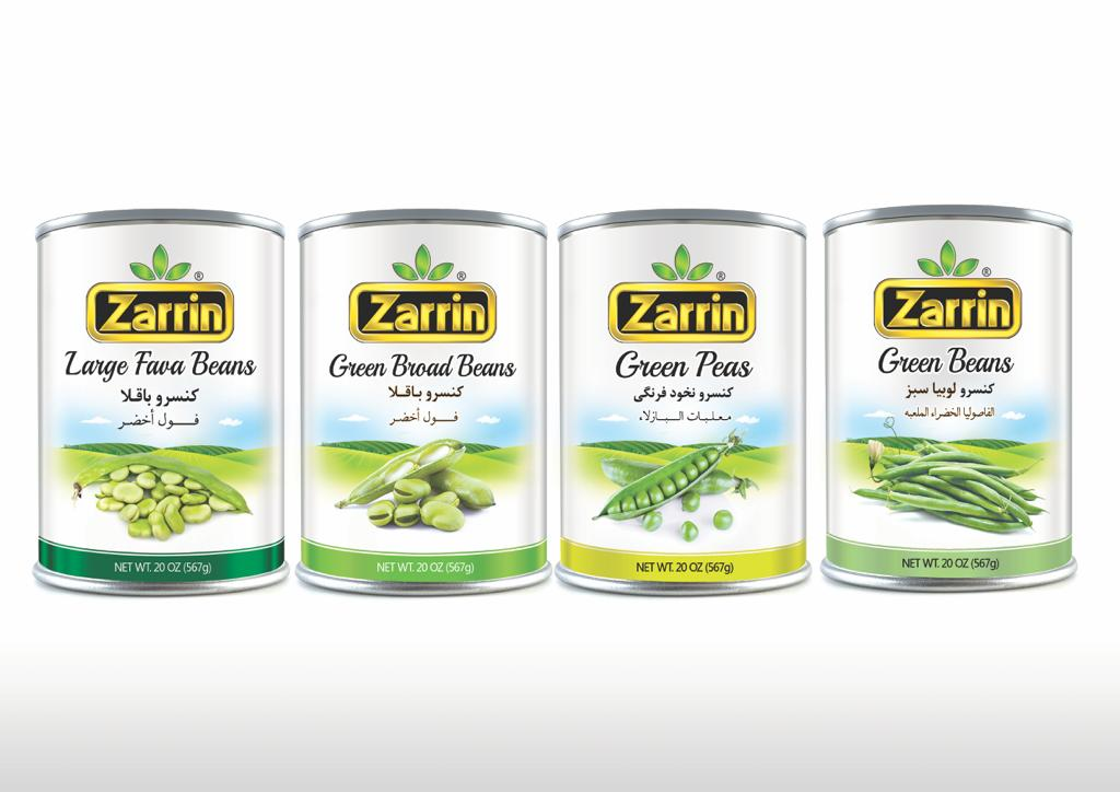 Food distributors near your area, Zarrin lentils, whole kernel corn, black eyed peas, fould mudammas, and peas.